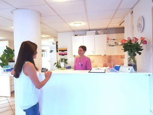 Tandläkamottagning Hagakliniken i Solna