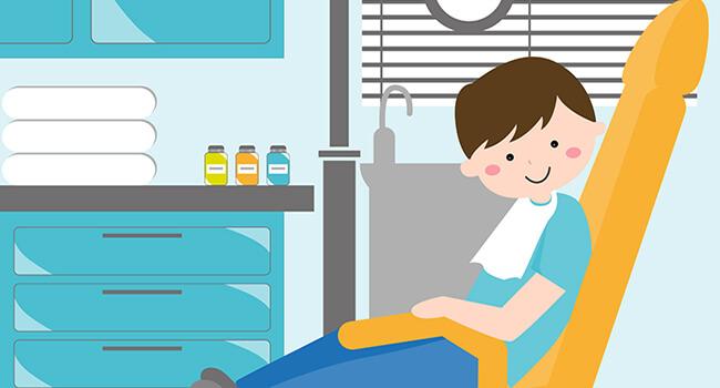 När ska man börja ta sitt barn till tandläkare